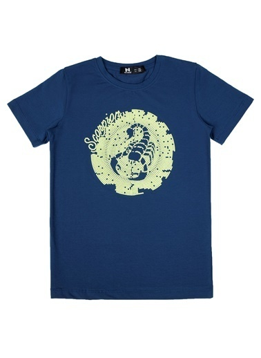 New Brand Tişört İndigo
